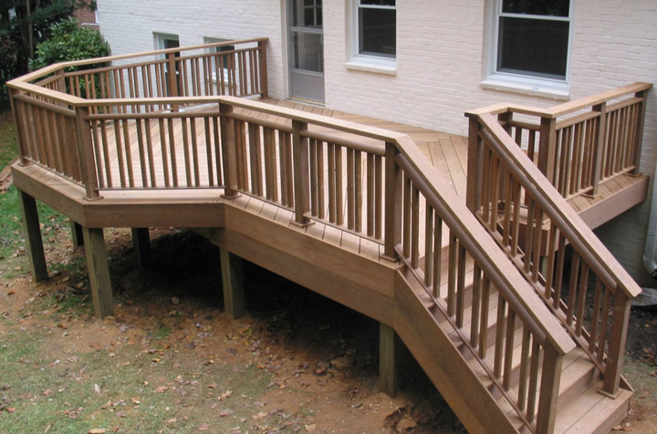 new back porch Ipe deck
